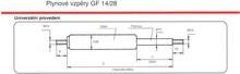 agados_plynové vzpěry GF 14-28